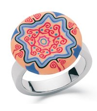 JRD036-5 Batik Pop Ring