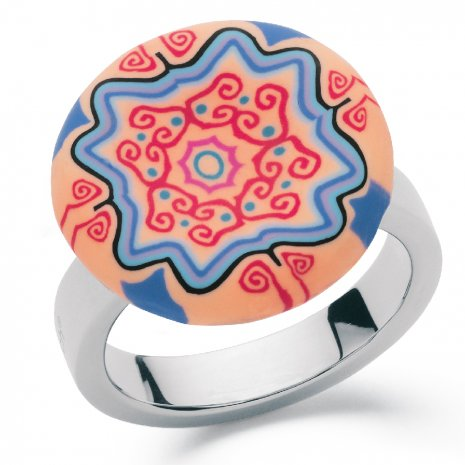 Swatch Bijoux Batik Pop Ring Anillo