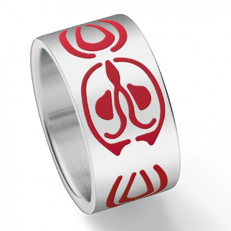 Swatch Bijoux Fluonik Red Ring Anillo