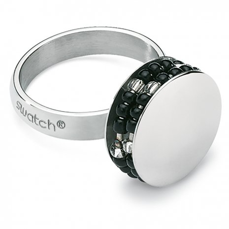Swatch Bijoux Jonction Black Ring Anillo