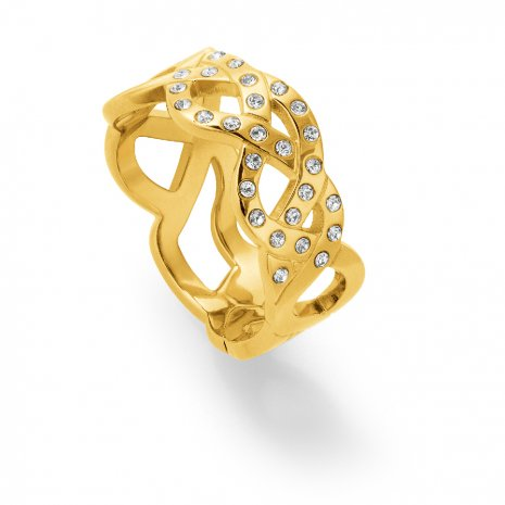 Swatch Bijoux Melted Beauty Gold Ring Anillo