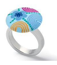 JRS036-6 Paint Circles Ring