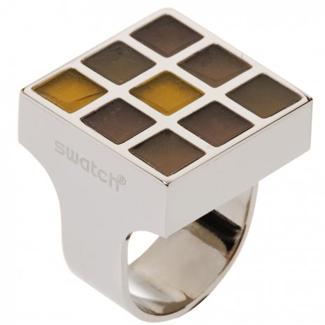 Swatch Bijoux Prismatic Champagne Ring Anillo