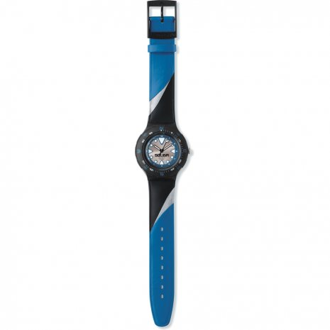 Swatch Blue Squiggle Reloj