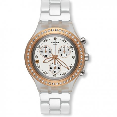 Swatch Full-Blooded Rose Gold Reloj