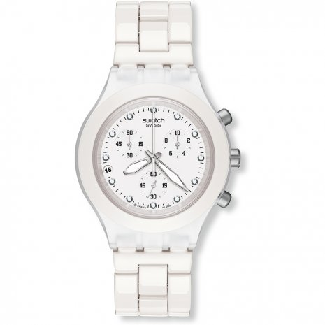 Swatch Full-Blooded White Reloj
