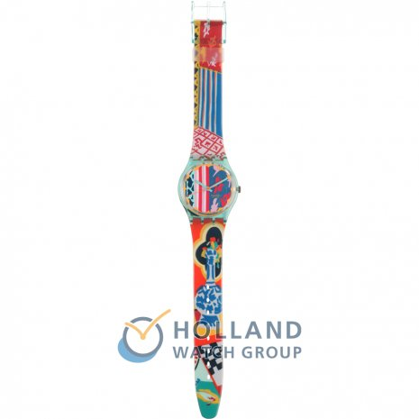 Swatch Mogador Dummy with Plastic Strap Reloj