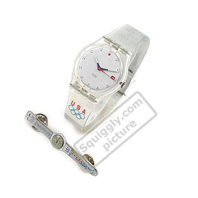 Reloj Swatch GK419VPACK Pin Package (Run After USA)