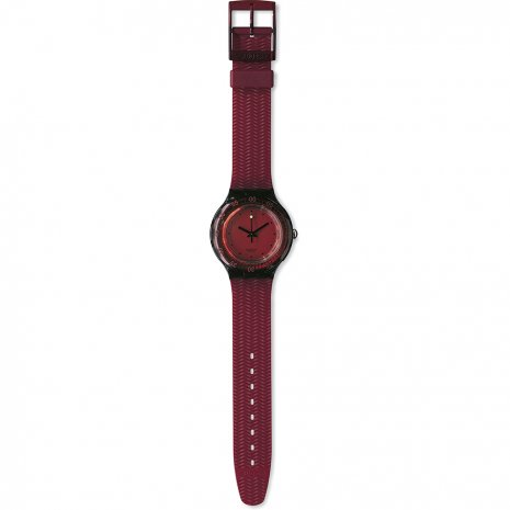 Swatch Red Wood Reloj