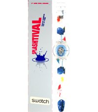 SUJK104C1 Splashtival 2006 (Swatch Blue) 38mm