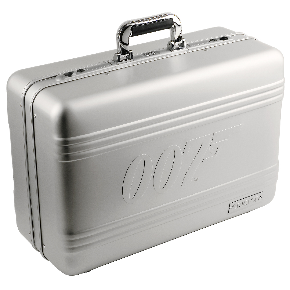 Swatch Suitcasepack Watch Suitcase For James Bond Collection