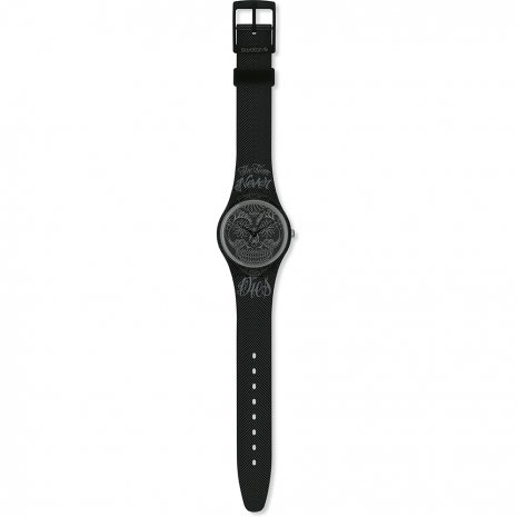 Swatch Time Never Dies Black Reloj