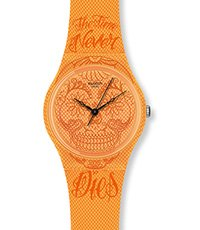 GO110 Time Never Dies Orange 34mm