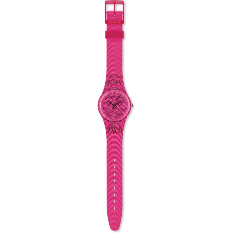 Swatch Time Never Dies Pink Reloj