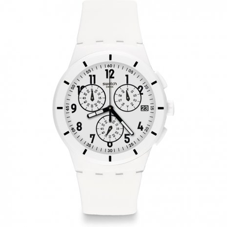Swatch Twice Again White Reloj