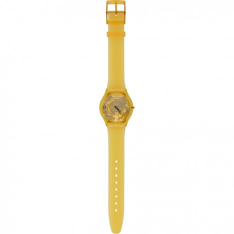 Swatch Yellow Jelly Skin Reloj